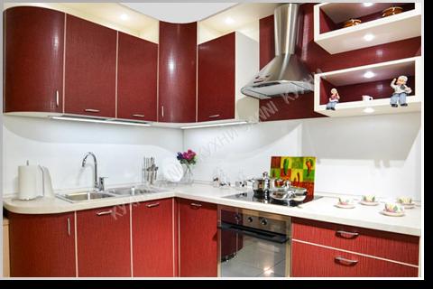 Кухня Сабрина red