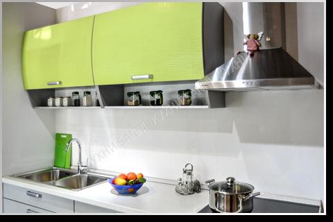 Кухонный гарнитур Сабрина green light