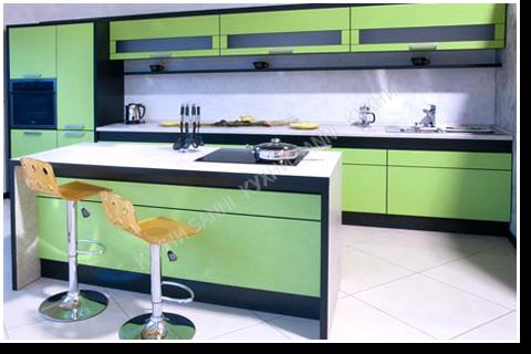Кухонный гарнитур Сабрина green