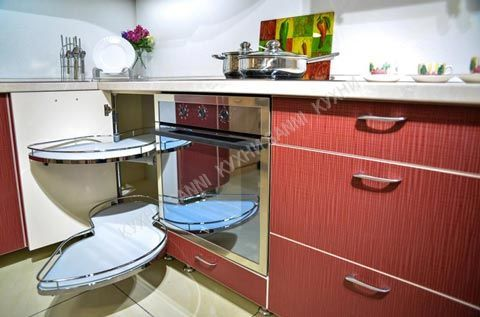 Кухонный гарнитур Сабрина red