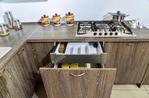 Кухонный гарнитур Николь крем