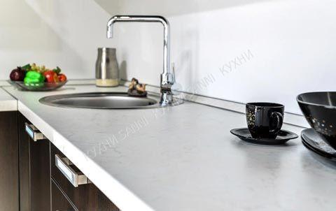 Кухня Амелия темный дуб