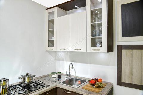 Кухня Амелия кремовая линия