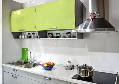 Кухня Сабрина light green